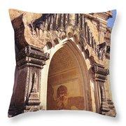 Sulamani Temple Throw Pillow