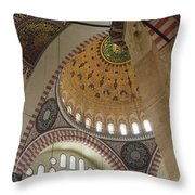 Suleymaniye Arches And Domes Throw Pillow