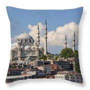 Suleymaniye Camii Throw Pillow