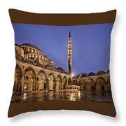 Suleymaniye Mosque Throw Pillow