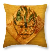 Sullen - Tile Throw Pillow