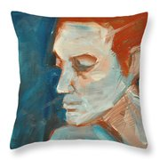 Sullen Throw Pillow
