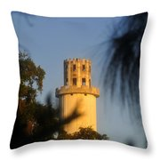 Sulphur Springs Tower Throw Pillow