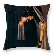 Sultan Mahmud II Throw Pillow