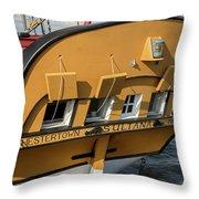 Sultana Stern Throw Pillow