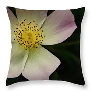 Sultry Hellebore Throw Pillow