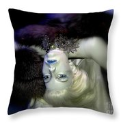 Sultry Simone Throw Pillow