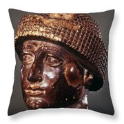 Sumer: Ur-ningirsu Throw Pillow