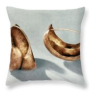 Sumerian Jewelry Throw Pillow