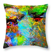 Summer 2015 Mix 3 Throw Pillow
