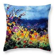 Summer 45 Throw Pillow