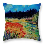Summer 56 Throw Pillow