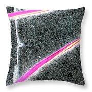 Summer Abstract Throw Pillow