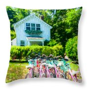 Summer Afternoon In The Hamptons Throw Pillow