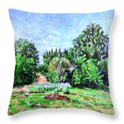 Summer Afternoon. Throw Pillow