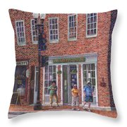 Summer Afternoon On M Street Throw Pillow