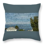 Summer Afternoon Sail Throw Pillow