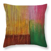 Summer And Spring Throw Pillow