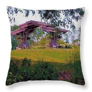 Summer Arbor Throw Pillow