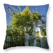 Summer Arbor Throw Pillow