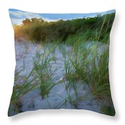 Summer At The Cape IIi Throw Pillow