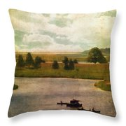 Summer At The Cape V Throw Pillow