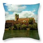 Summer. At The Resort In Bad Saeckingen. Germany. Throw Pillow