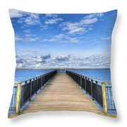Summer Bliss Throw Pillow
