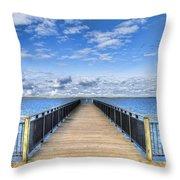 Summer Bliss Throw Pillow by Tammy Wetzel