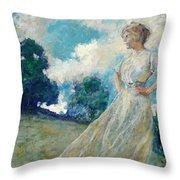 Summer Breeze 1915 Throw Pillow