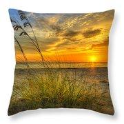 Summer Breezes Throw Pillow