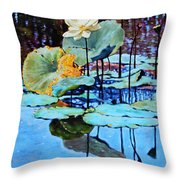 Summer Calm Throw Pillow