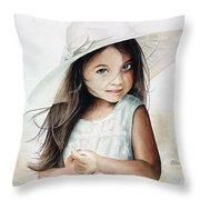 Summer Claire Throw Pillow
