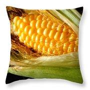 Summer Corn Xl Farm Nature Harvest Throw Pillow