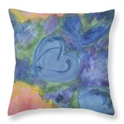 Summer Dance Of The Hearts #49 Throw Pillow