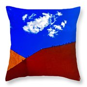 Summer Day In The New World Throw Pillow