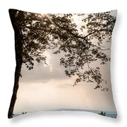 Summer Days On The Horizon Throw Pillow