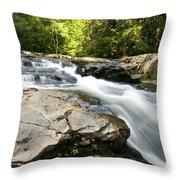 Summer Down Hill Throw Pillow