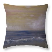 Summer Dreams In Color Throw Pillow by Judy Hall-Folde