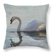 Summer Drift Throw Pillow