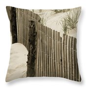 Summer Dunes Throw Pillow
