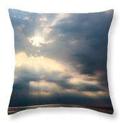 Summer Evening Throw Pillow