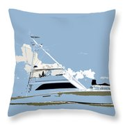 Summer Freedom Throw Pillow