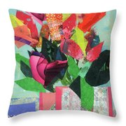 Summer Frolic Throw Pillow