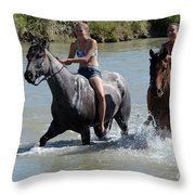 Summer Fun 5 Throw Pillow