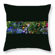 Summer Garden 3 Throw Pillow