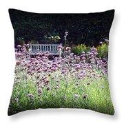 Summer Garden II Throw Pillow