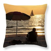 Summer Get Away Throw Pillow by David Lee Thompson
