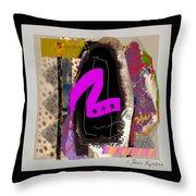 Summer Hot 1 Throw Pillow