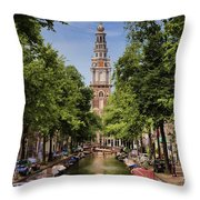 Summer In Amsterdam-2 Throw Pillow